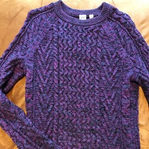 Gap thick cord sweater